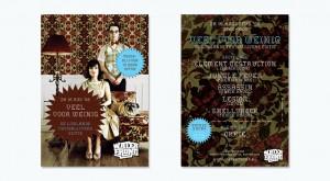 Ontwerp Flyer voor Veel voor Weinig - Lowlands Thuisblijvers editie