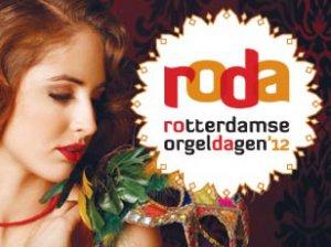 ontwerp voor de huisstijl van de rotterdamse orgeldagen