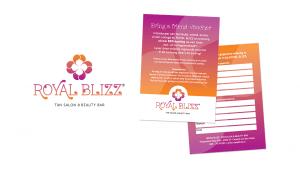 ontwerp logo en voucher voor Royal Blizz