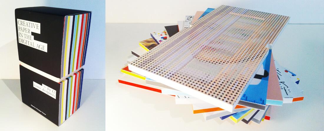 BO12-box. Gelimiteerde box met 12 notitieboekjes van papierleverancier Antalis