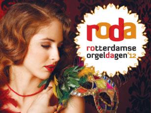 Huisstijl voor Festival Rotterdamse Orgeldagen